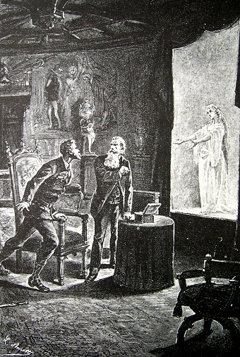 1893 - First appearance of Augmented Reality in Literature